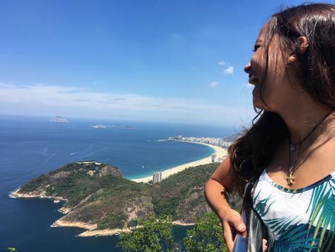 A linda vista do Pão de Açúcar - Rio de Janeiro