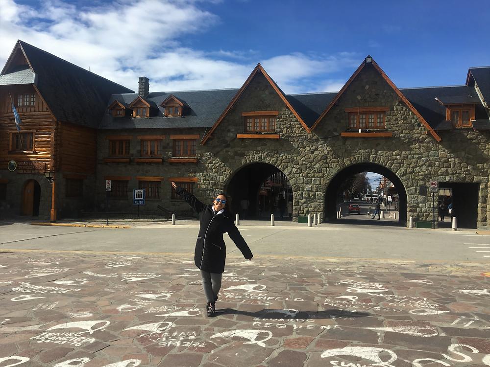Viaje com pouco - Centro Civico de Bariloche