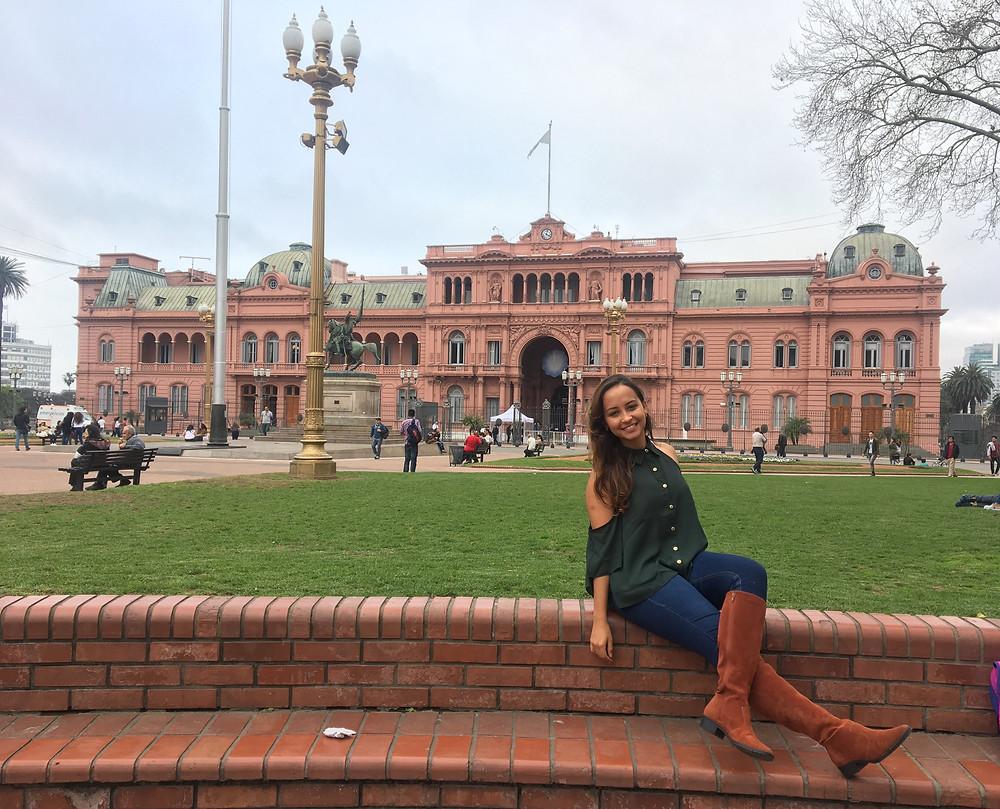 Viaje com pouco - Casa Rosada - Buenos Aires