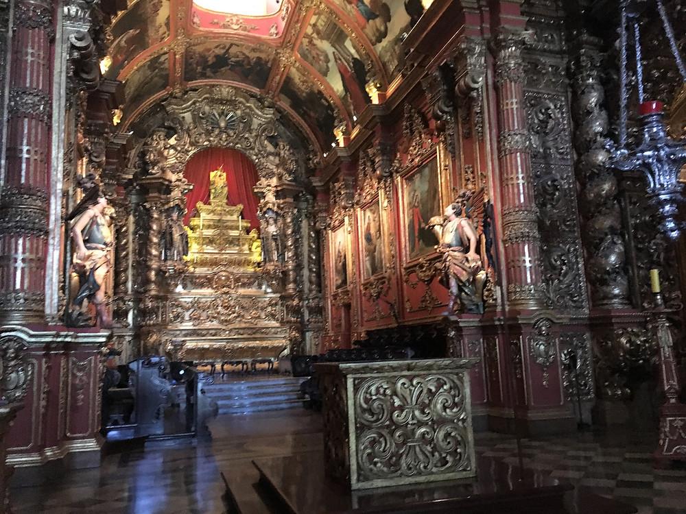 Viaje com pouco - mosteiro de sao bento