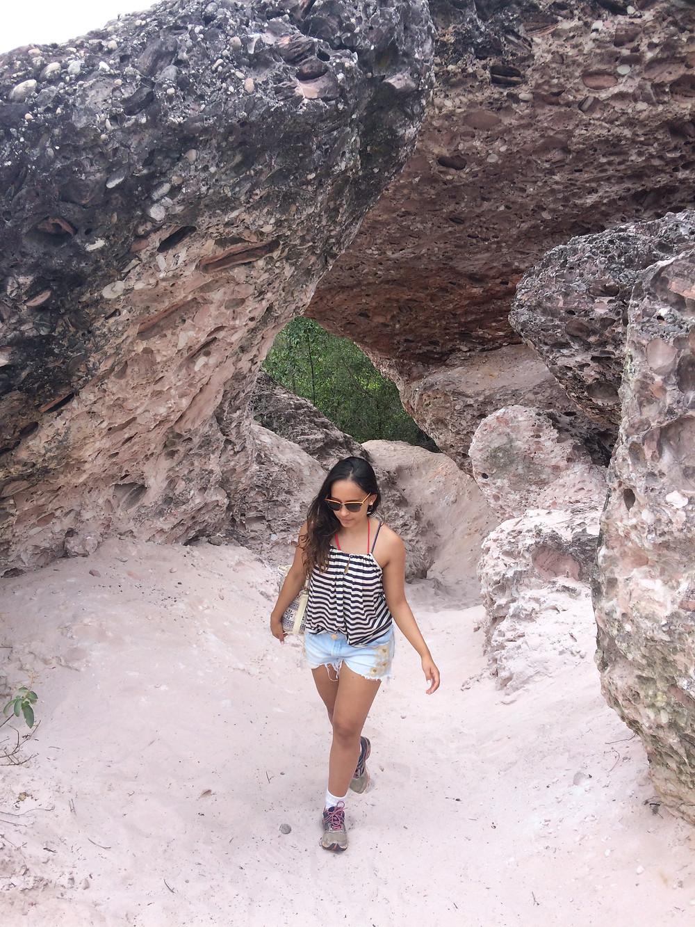 Viaje com pouco - Chapada Diamantina - Salão de Areias Coloridas