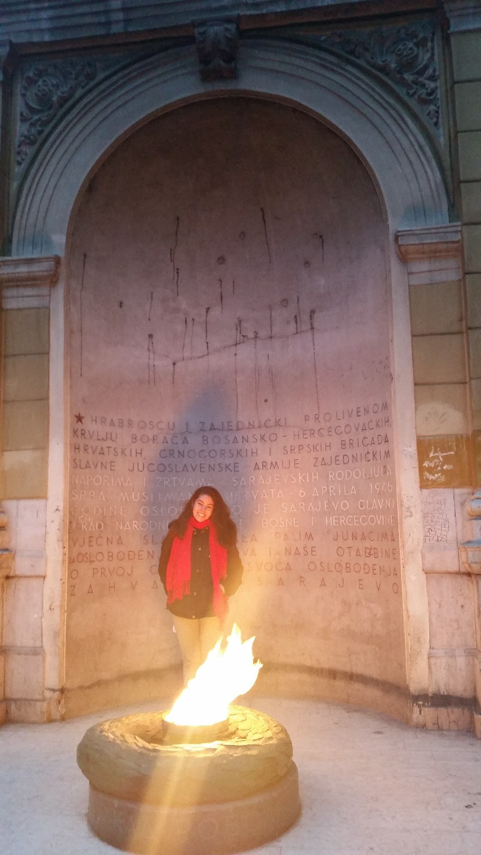 bosnia sarajevo war iugoslavia flame