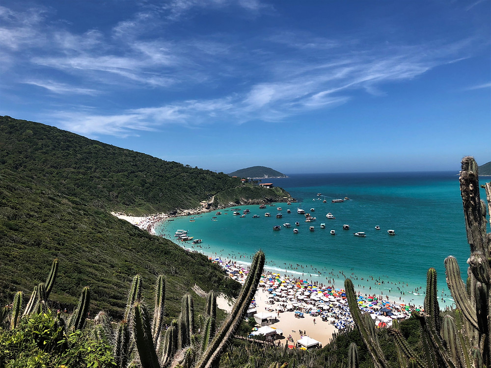 Praia do Pontal do Atalaia - Arraial do Cabo