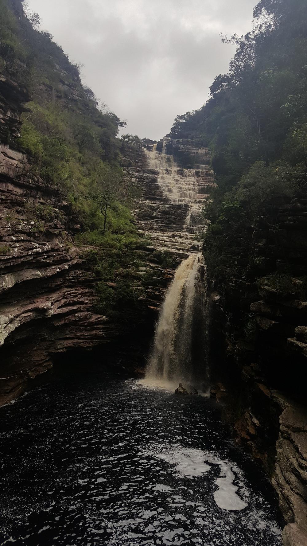 Viaje com pouco - Chapada Diamantina - Cachoeira do Sossego