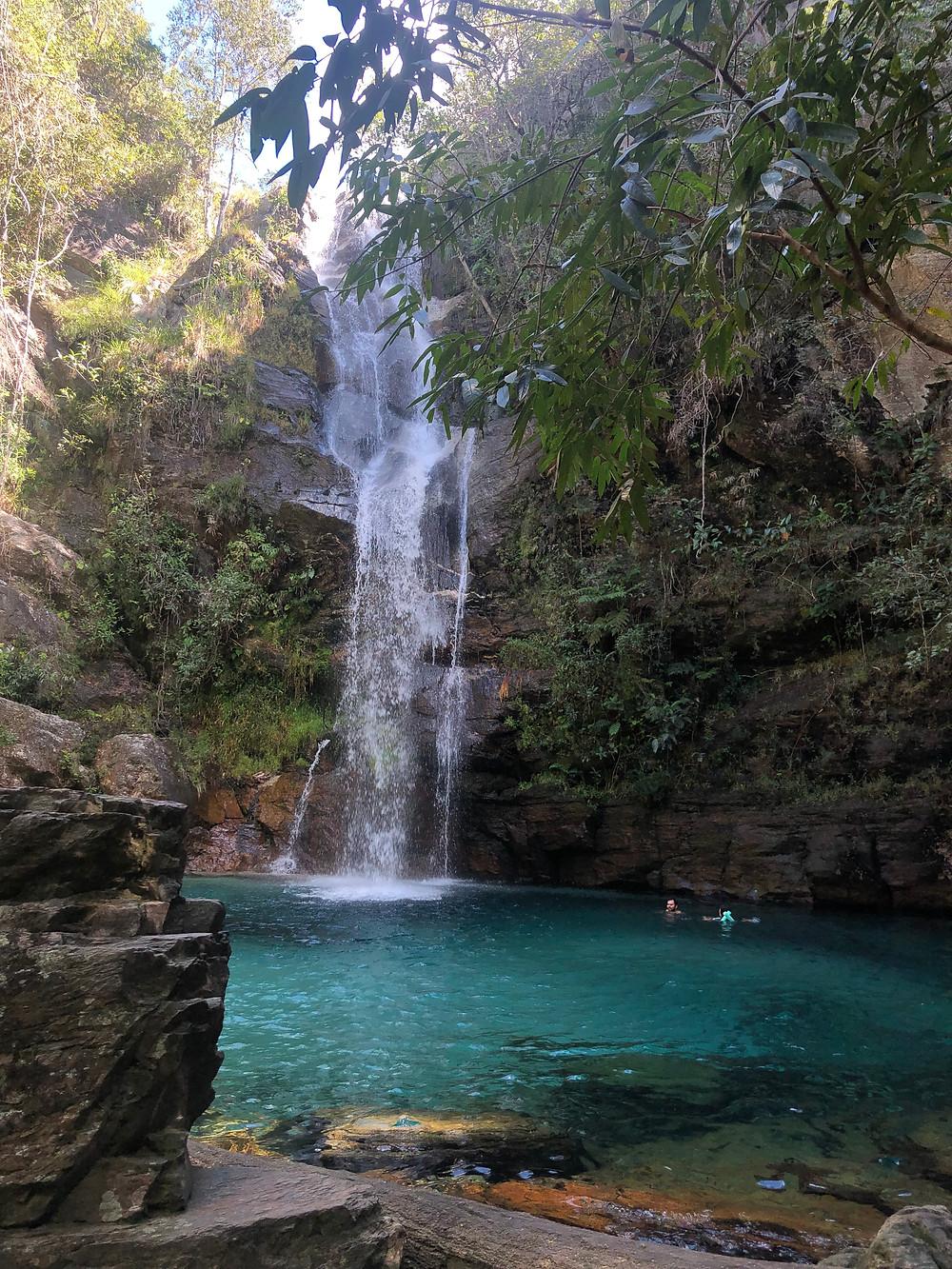 Cachoeira Santa Barbara - Chapada dos Veadeiros