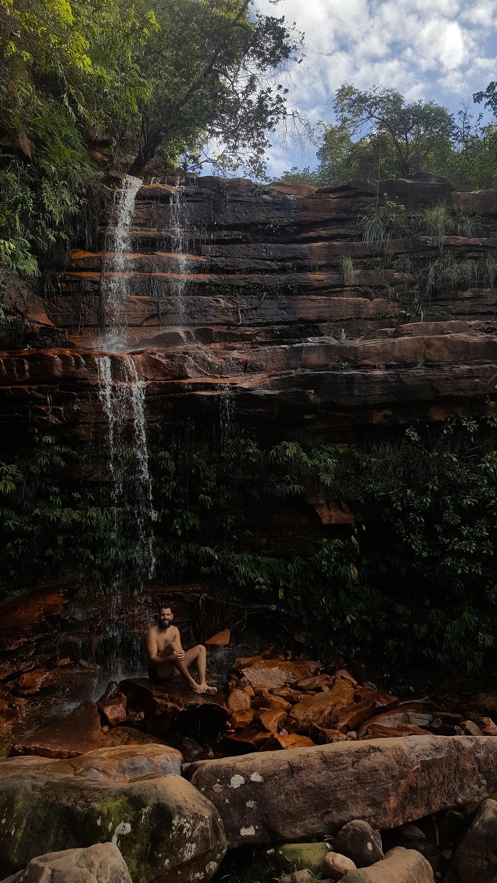 Viaje com pouco - Chapada Diamantina - Cachoeirinha do Serrano