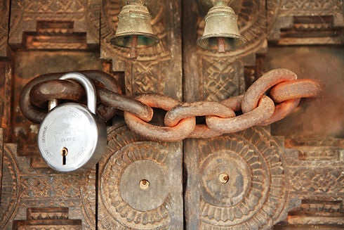Chained porte