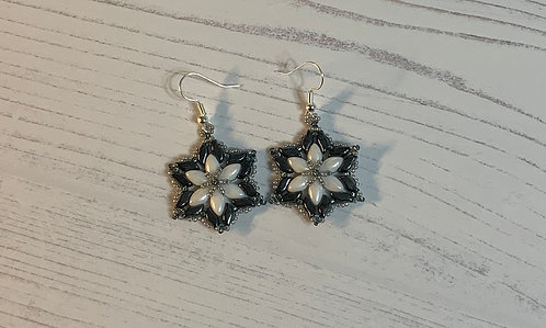 Snowflake Flower Earrings