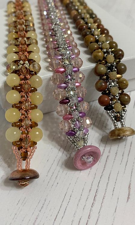 Gemstone Crystal Passion Bracelet