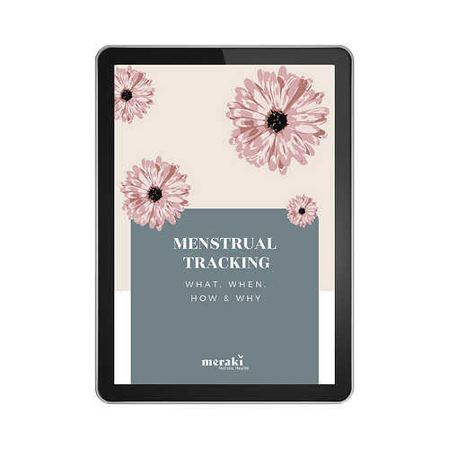 Menstrual tracking guide