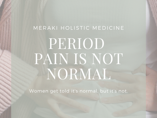 Period Pain is NOT Normal