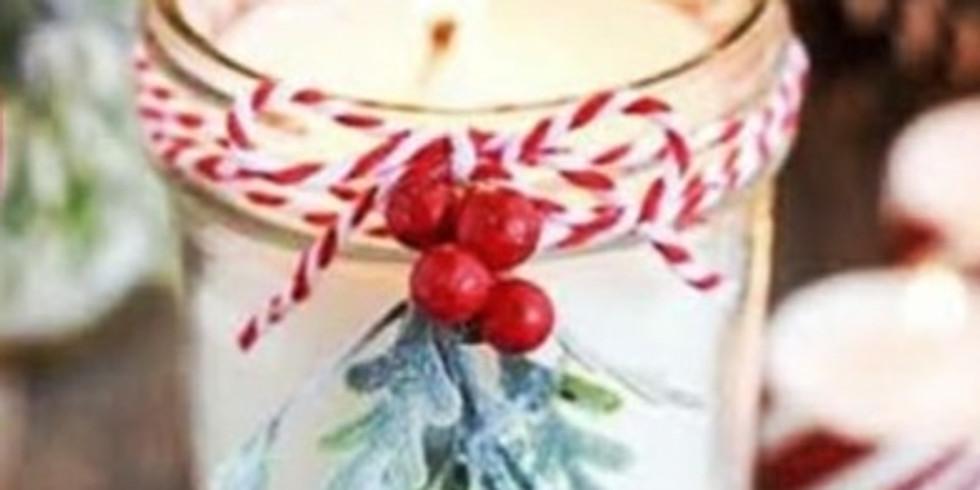 Christmas Natural Candle Workshop