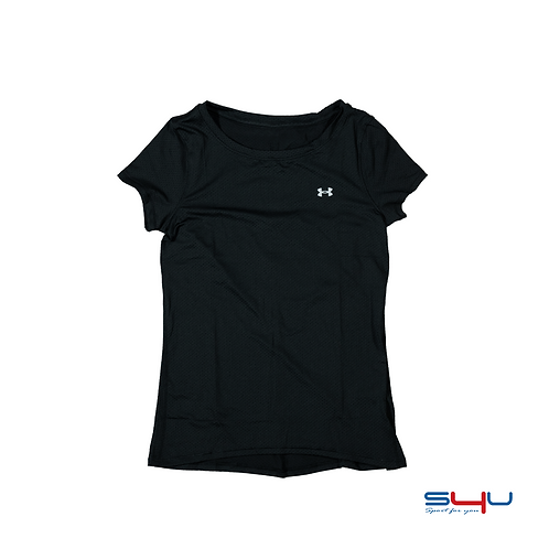 T-Shirt running nera Under Armour