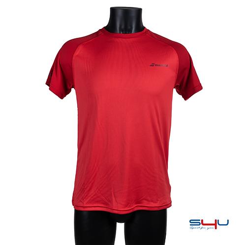 T-Shirt rossa Babolat