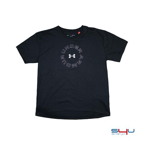 T-Shirt nera Under Armour