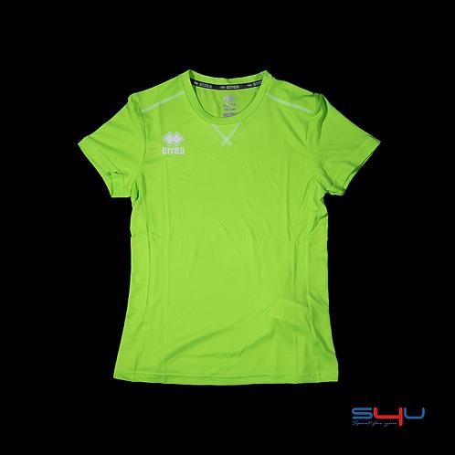 T-Shirt verde fluo ERREA