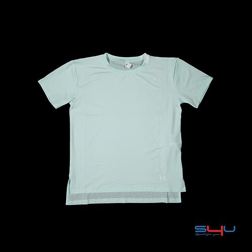 T-Shirt verde acqua Under Armour