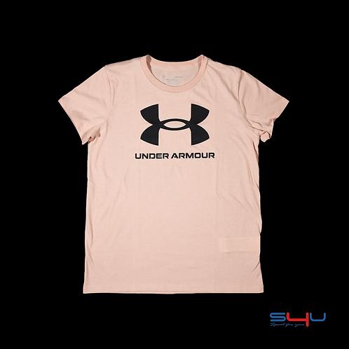 T-Shirt rosa Under Armour