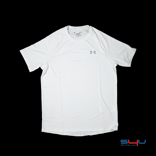 T-Shirt logo grigio Under Armour