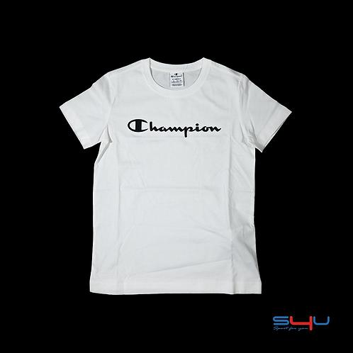 T-Shirt bianca Champion