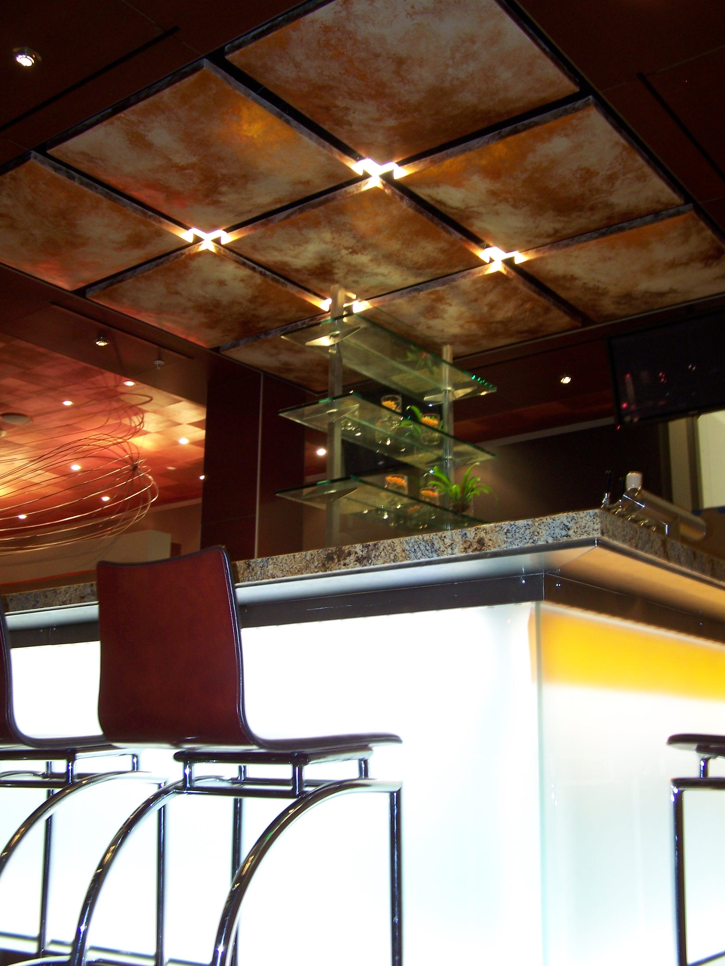 house sacramento copper ceiling