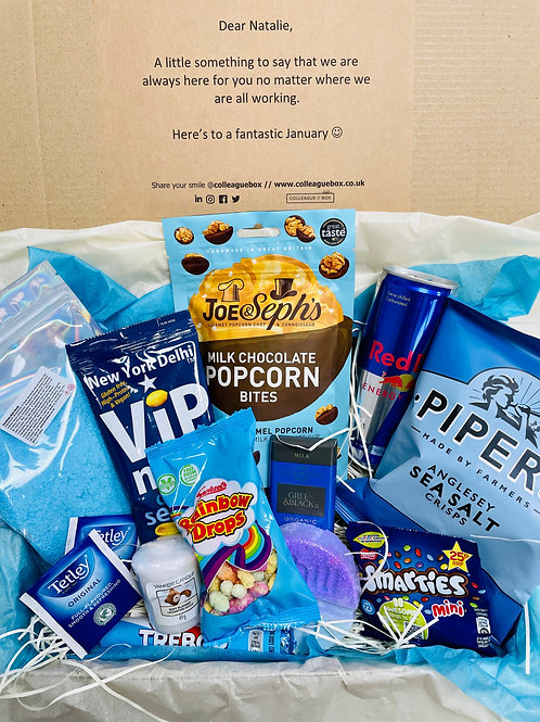 Blue January Box