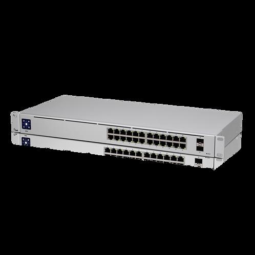 Ubiquiti Networks UniFi USW-24 24-Port Managed Gigabit Managed Switch with SFP