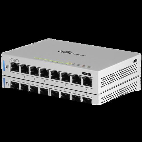 Ubiquiti Networks US-8 UniFi 8-Port Gigabit PoE Compliant Managed Switch