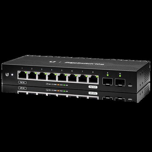 Ubiquiti Networks EdgeSwitch 10X 10-Port Gigabit PoE-Compliant Switch with SFP