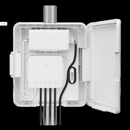 Ubiquiti Networks UniFi Switch Flex Utility Weatherproof Outdoor Enclosure