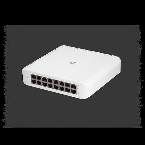 Ubiquiti Networks UniFi Lite 16-Port Gigabit PoE+ Compliant Managed Switch