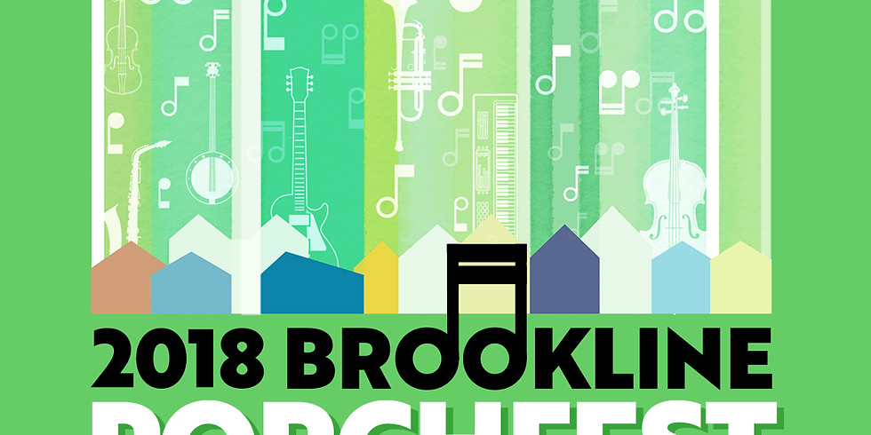 Din Check's Bollywood Sing-Along at Brookline Porchfest 2018