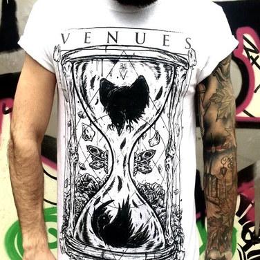 Venues - Moth T-shirt