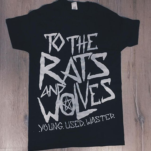 To The Rats and Wolves -  Pentagram T-Shirt