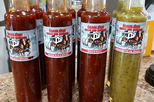 Sauce BBq-Érable extra Épicée La Cabanados