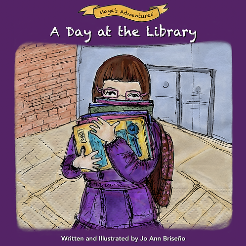 Maya's Adventure Book A Day at the Library Book