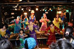 アフロ des MISHIMAのライブ