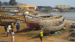 ギニアの海岸線