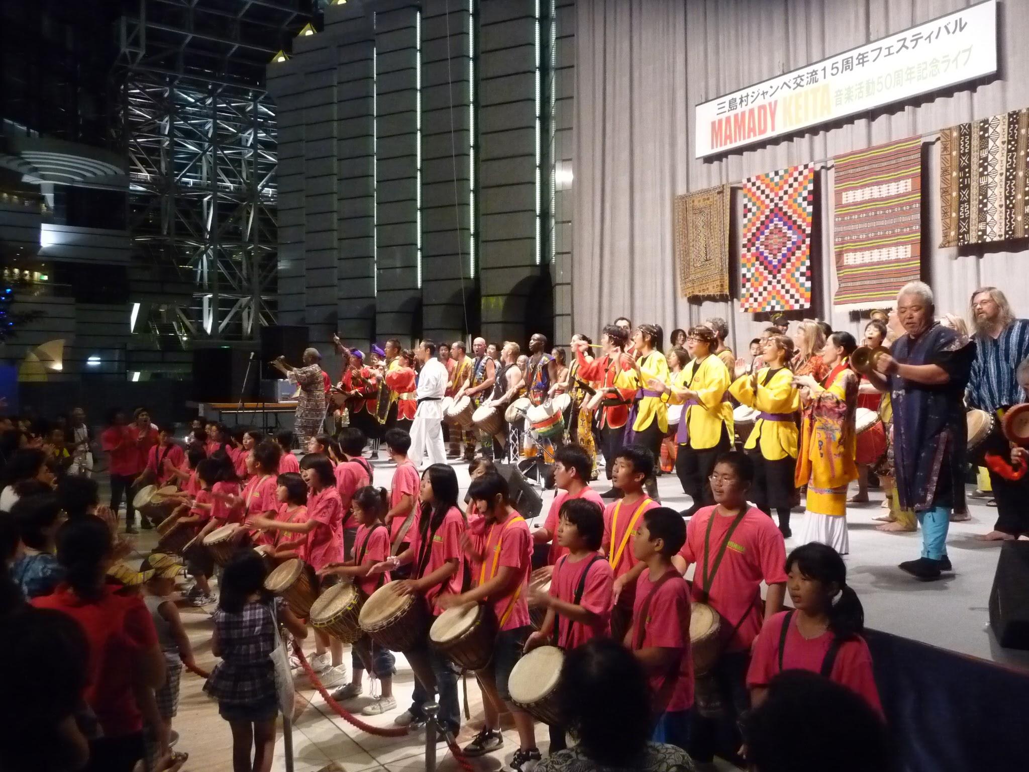 交流15周年の東京公演