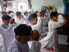 [Cao Đài] Lễ Tiểu Tưởng tại Hương Đạo Phú Tân