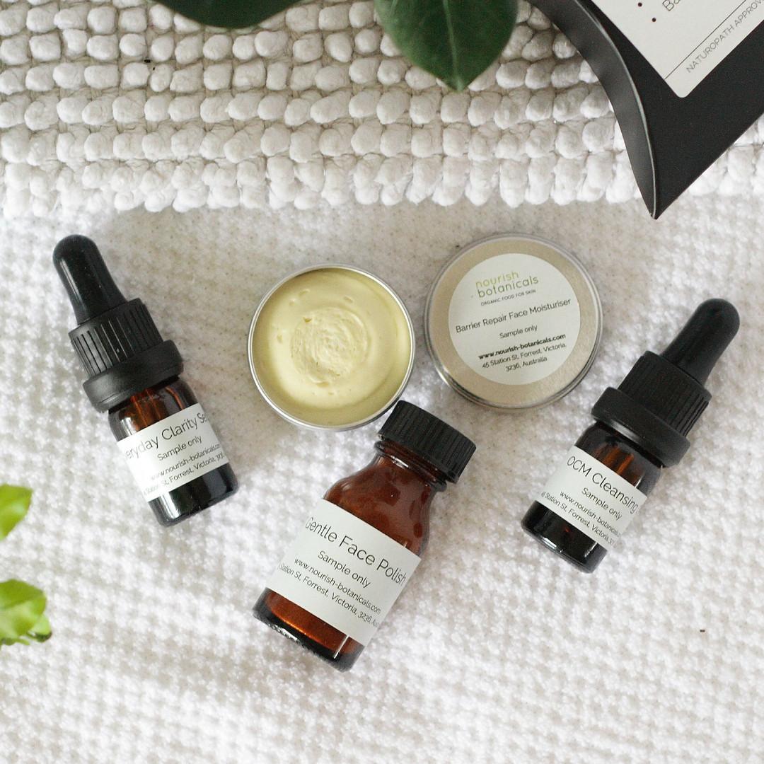 mature dry skin samples organic natural