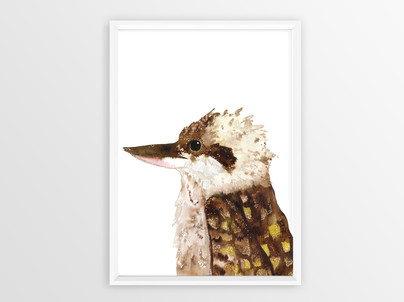 Kookaburra_white_Poster Frame Mockup.jpg