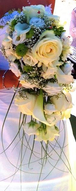 Bouquet retombant