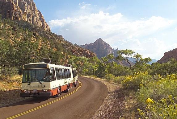Zion National Park Shuttle Information