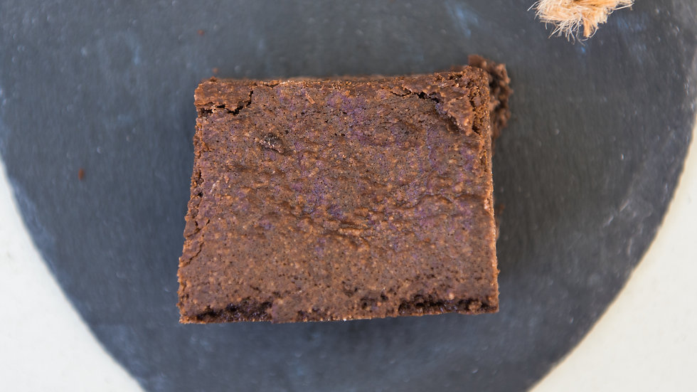 Brownie (three pieces)