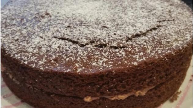 'Naked' cake