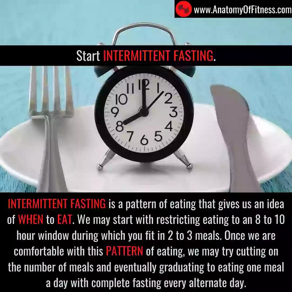 INTERMITTENT FASTING for guaranteed FAT BURN.
