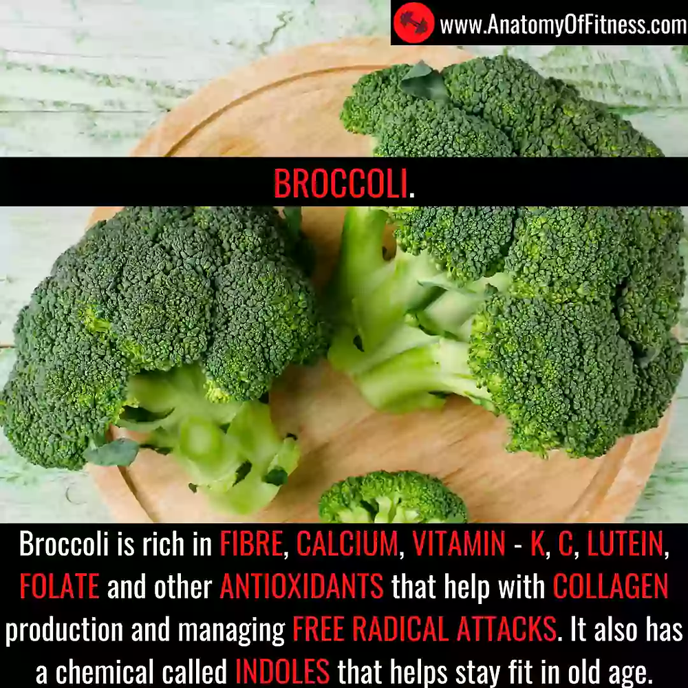 Broccoli for ANTI-AGEING.