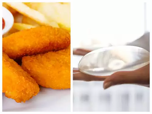 Silicon fillers used as a food additive in Chicken Nuggets.