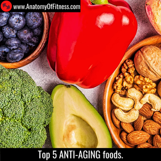 Top 5 ANTI-AGEING foods.